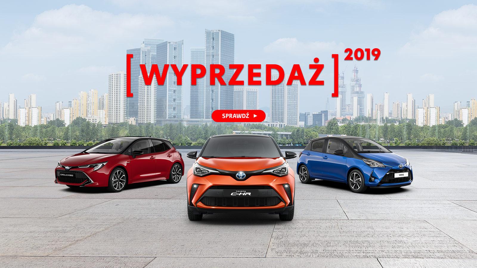 Wyprzedaż Toyoty – kampania
