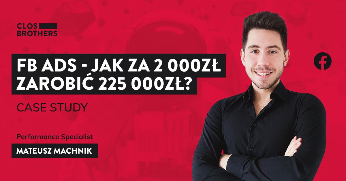 Mateusz Machnik facebook ads